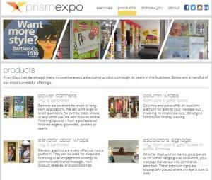 Prismexpo site