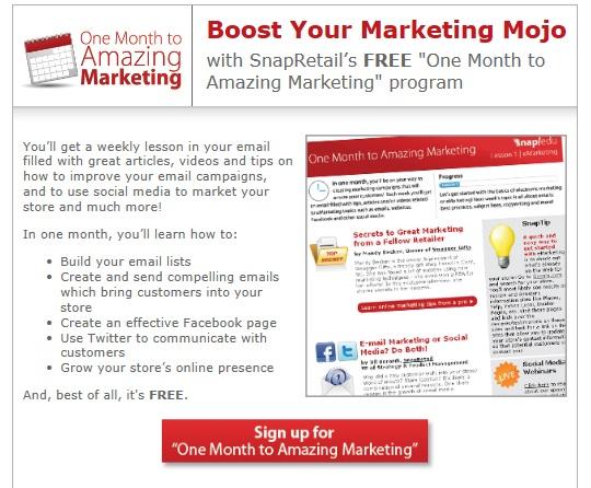 30 Days to Amazing Marketing